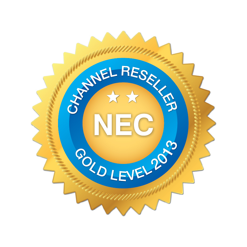 NEC Channel Reseller Gold Level